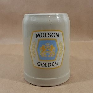 SOLD Molson Golden West Germany Tan Mug Stein